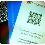 QR-Codes auf Visitenkarten